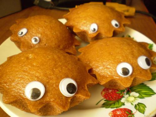 Пирог с глазами